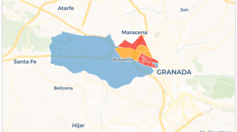 resultado elecciones andaluzas 2018 en la Chana